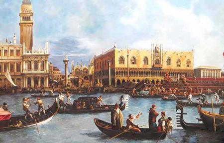 Par passion pour les Vedute du peintre Canaletto