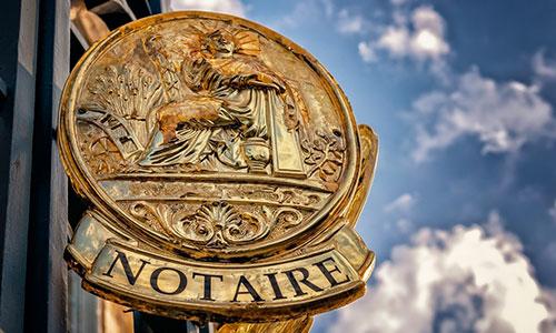Frais d'hypothèque devant Notaire